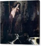 The Surf 1883 Canvas Print