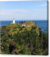 The Swallowtail Lightstation Canvas Print