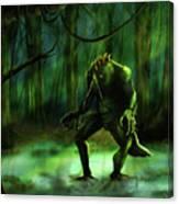 The Swamp Canvas Print