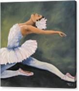 The Swan IV Canvas Print