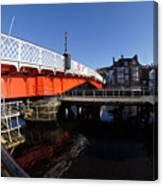 The Swing Bridge Canvas Print