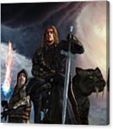 The Sword Of The South Canvas Print