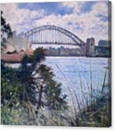 The Sydney Opera House And Harbour Bridge. Australia 2007  Canvas Print