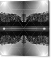 The Symmetry Of Light  Canvas Print