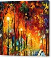 The Symphony Of Light Canvas Print
