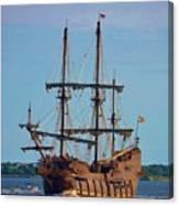 The Tall Ship El Galeon Canvas Print