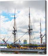 The Tall Ship Hermione - Philadelphia Pa Canvas Print
