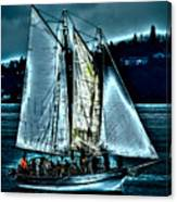 The Tall Ship Lavengro Canvas Print
