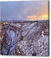 The Taos Gorge Canvas Print