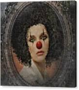 The Tearful Clown Canvas Print
