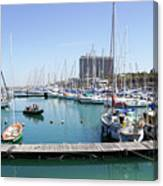 The Tel Aviv Marina  Canvas Print