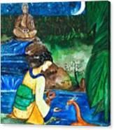 The Temple Garden Canvas Print