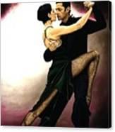 The Temptation Of Tango Canvas Print