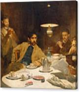 The Ten Cent Breakfast Canvas Print