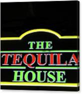 The Tequila House, New Orleans Canvas Print