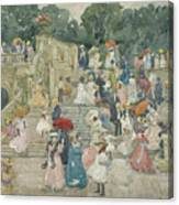 The Terrace Bridge, Central Park Canvas Print