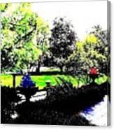 The Terrace Canvas Print