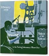 The Testing Laboratory Canvas Print