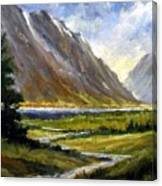 The Tetons 05 Canvas Print