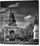 The Texas State Capitol Canvas Print