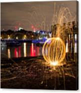 The Thames Orb Canvas Print