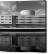 The Theatre Of Oulu  3 Canvas Print