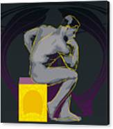 The Thinker - El Pensador Canvas Print