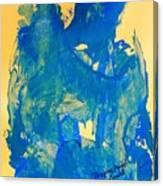 The Thinking Angel Canvas Print