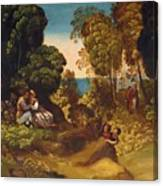 The Three Ages Of Man 1515 Canvas Print