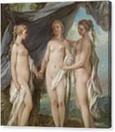 The Three Graces Canvas Print