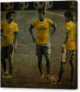 The Three Kings Marcelo Hulk Neymar Os Tres Reis  Canvas Print