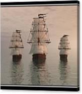 The Three Ships Canvas Print