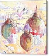 The Three Worlds Canvas Print