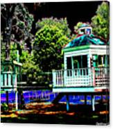 The Tides Inn Playground Canvas Print