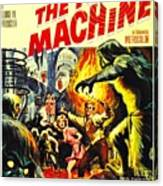 The Time Machine B Canvas Print