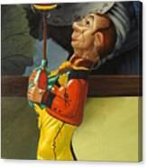 The Tin Juggler Canvas Print