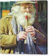 The Tin Whistle Canvas Print