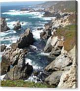 The Tintagel Coast Canvas Print