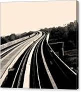 The To Do Track For Life Canvas Print
