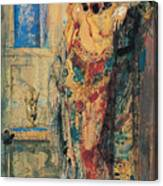 The Toilette 1885 Canvas Print