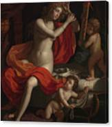 The Toilette Of Venus Canvas Print