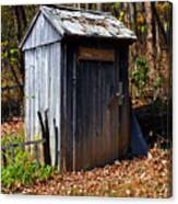 The Tool Shed Canvas Print