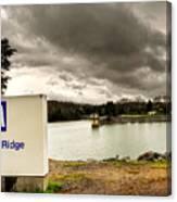 The Top Of Blue Ridge Dam Canvas Print