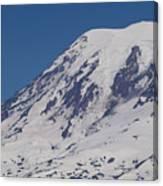 The Top Of Mount Rainier Canvas Print