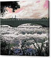 The Torrent Above Niagara Canvas Print