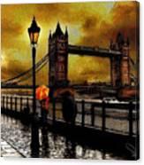 The Tower Bridge As I See Canvas Print