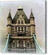 The Tower Bridge In London 2 Canvas Print