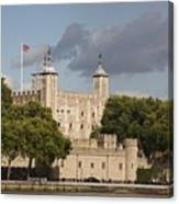The Tower Of London. Canvas Print