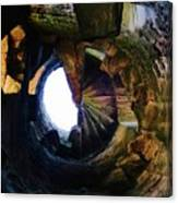 The Tower Stairs Canvas Print