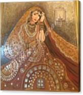 The Traditional Lady Canvas Print
